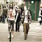 Ζόμπι στους δρόμους των Βρυξελλών!