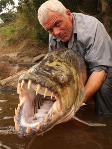 Ψάρεψε ένα… «θαλάσσιο τέρας»!