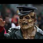 Μαζική διαδήλωση από… ζόμπι στους δρόμους της Πόλης του Μεξικό