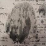 «Εμφανίστηκε το πρόσωπο του Ιησού στην εφημερίδα που διάβαζα!»