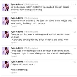 Έγραψε tweets για το UFO που είδε, όμως στη συνέχεια τα… διέγραψε!