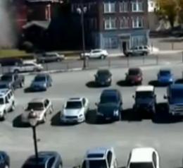 Φάντασμα προκαλεί ζημιές σε σταθευμένο αυτοκίνητο; (video)