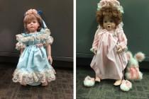 Πορσελάνινες κούκλες εμφανίζονταν έξω από τα σπίτια νεαρών κοριτσιών προκαλώντας τρόμο στις οικογένειές τους