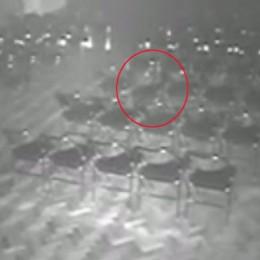 Καταγράφηκε φάντασμα σε θέατρο; (video)