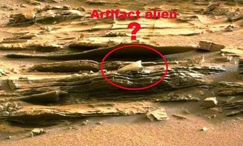 Εξωγήινο αντικείμενο στην επιφάνεια του Άρη;